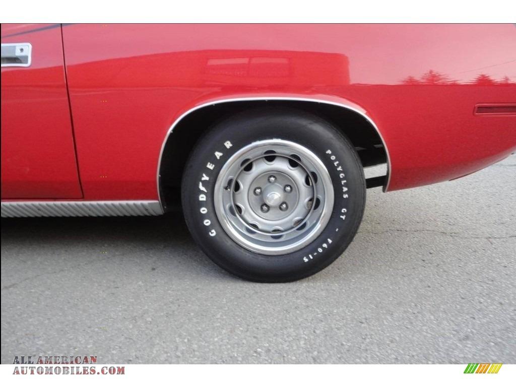 1970 Cuda Hemi - Rallye Red / Black photo #20
