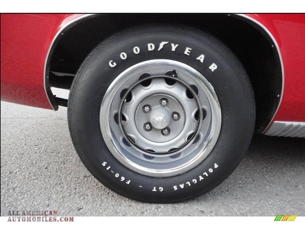 1970 Cuda Hemi - Rallye Red / Black photo #22