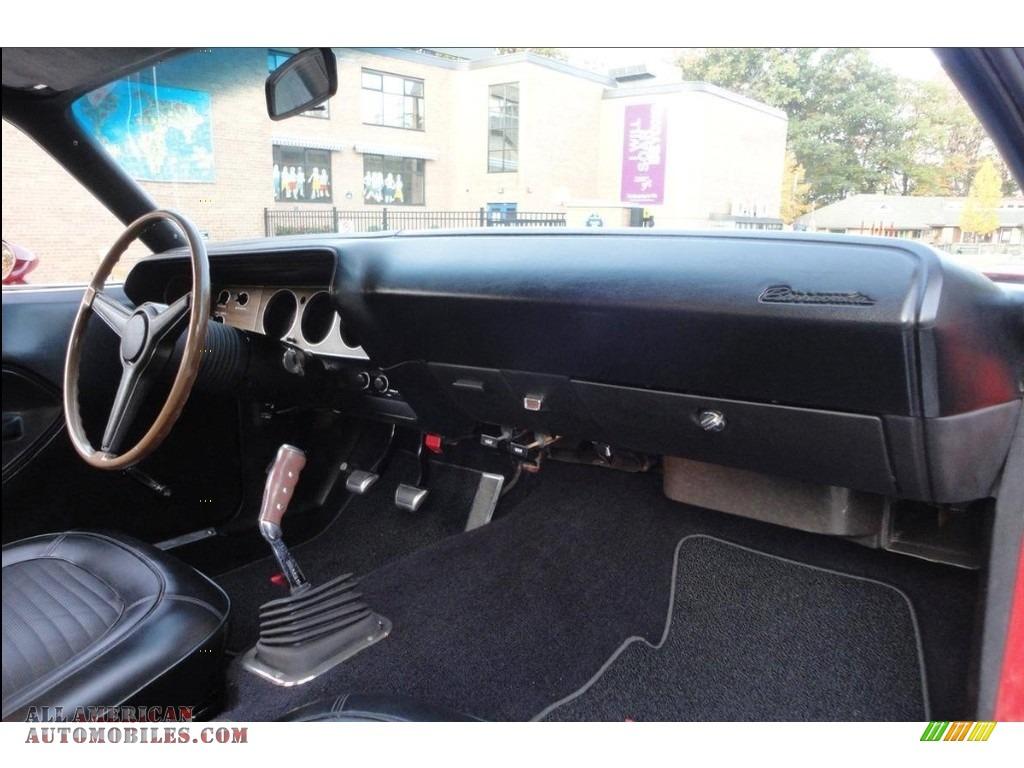 1970 Cuda Hemi - Rallye Red / Black photo #32