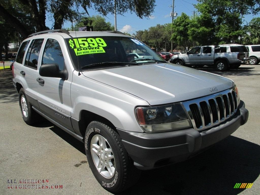 2003 Jeep Grand Cherokee Laredo In Bright Silver Metallic