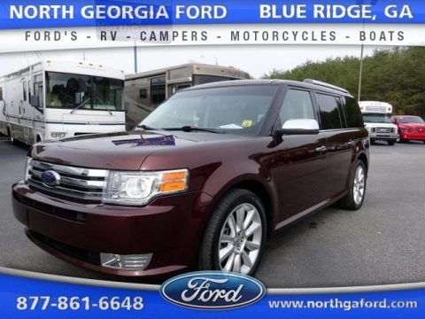 Cinnamon Metallic 2010 Ford Flex Limited