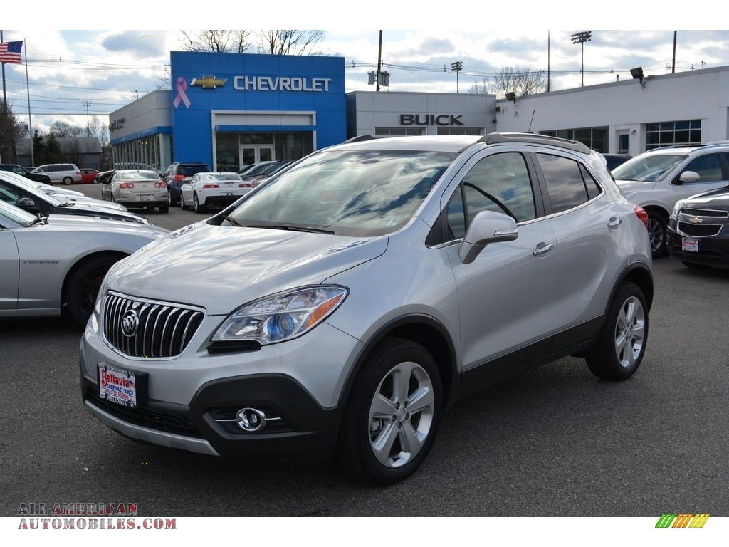 2016 buick encore leather awd in quicksilver metallic 519901 all american automobiles buy. Black Bedroom Furniture Sets. Home Design Ideas