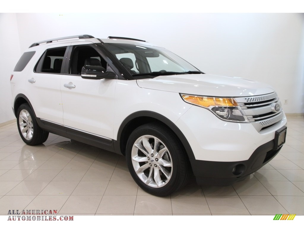 2014 ford explorer xlt 4wd in white platinum b11557 all american automobiles buy american. Black Bedroom Furniture Sets. Home Design Ideas