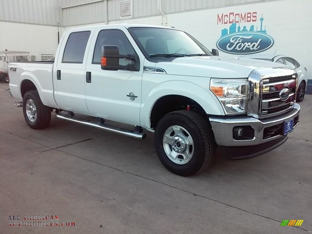 2016 ford f250 super duty xlt crew cab 4x4 in oxford white c22417 all american automobiles. Black Bedroom Furniture Sets. Home Design Ideas