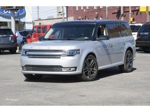 Ingot Silver 2014 Ford Flex Limited EcoBoost AWD