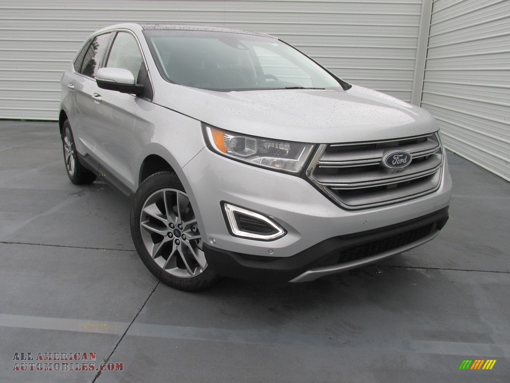 2016 ford edge titanium in ingot silver b17573 all american automobiles buy american cars. Black Bedroom Furniture Sets. Home Design Ideas