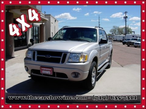 Silver Birch Metallic 2005 Ford Explorer Sport Trac XLT 4x4