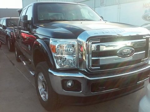 Shadow Black 2016 Ford F250 Super Duty XLT Crew Cab 4x4