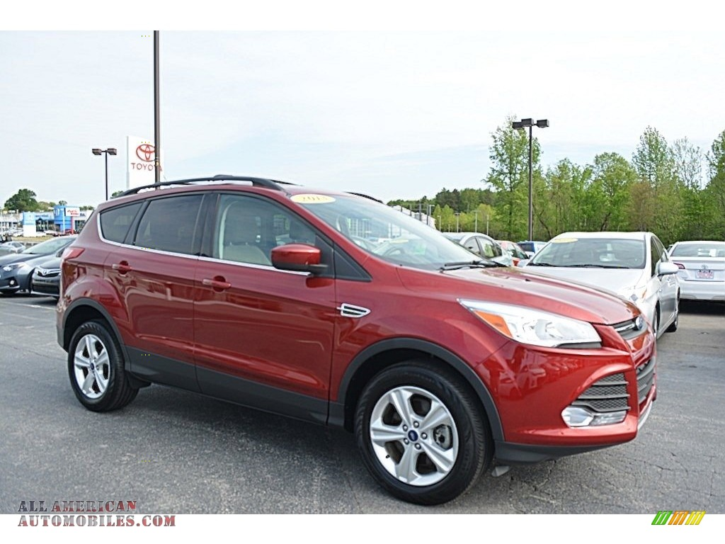 2013 ford escape se 1 6l ecoboost 4wd in ruby red metallic b05533 all american automobiles. Black Bedroom Furniture Sets. Home Design Ideas