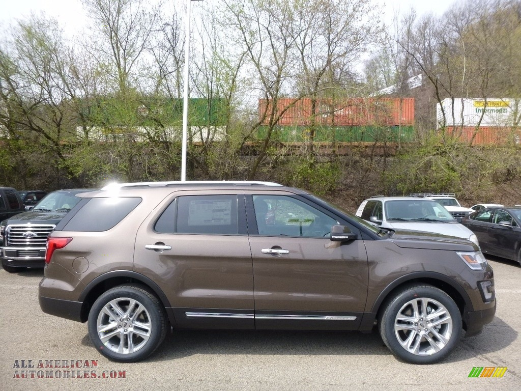 2016 Ford Explorer Limited 4wd In Caribou Metallic