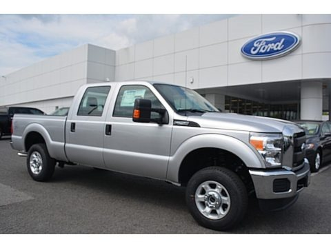 Ingot Silver Metallic 2016 Ford F250 Super Duty XL Crew Cab 4x4