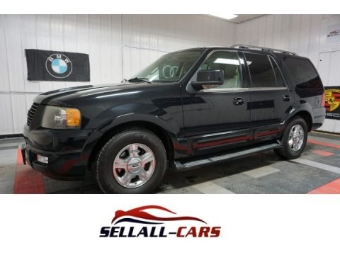 Black 2006 Ford Expedition Limited