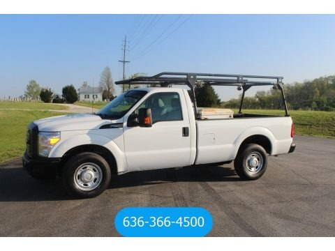 Oxford White 2012 Ford F250 Super Duty XL Regular Cab