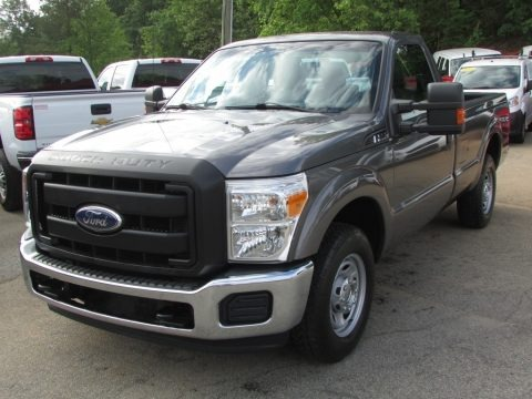 Sterling Grey Metallic 2011 Ford F250 Super Duty XL Regular Cab