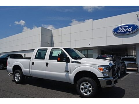 Oxford White 2016 Ford F250 Super Duty XL Crew Cab 4x4