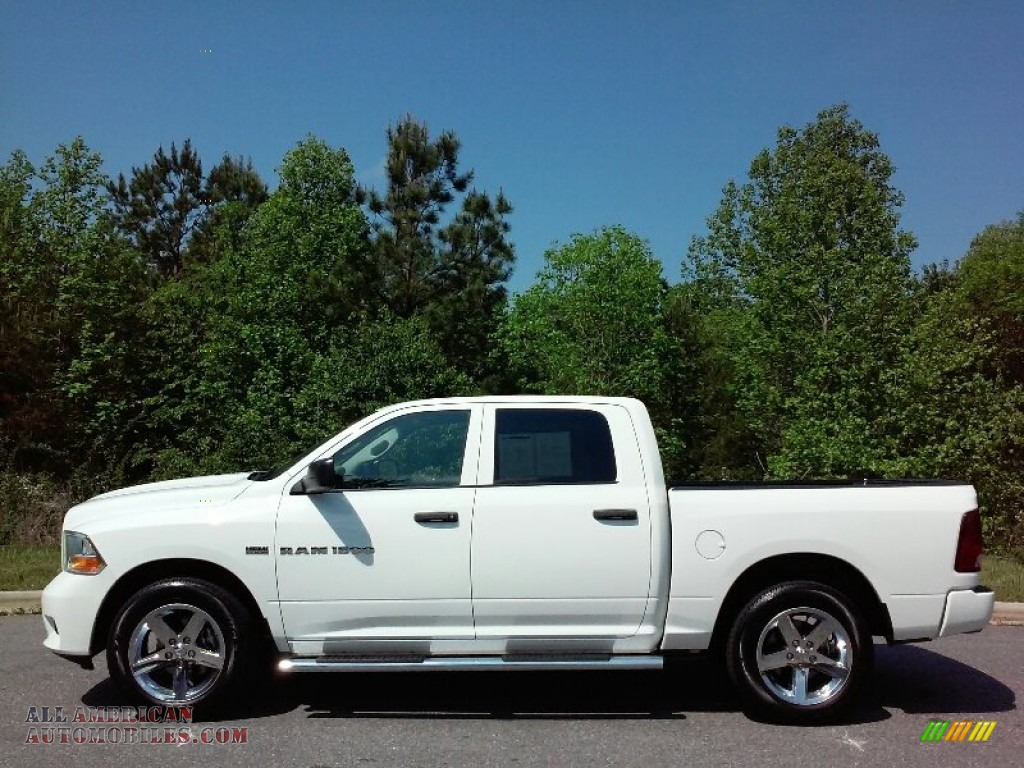 2012 dodge ram 1500 express crew cab in bright white 302350 all american automobiles buy. Black Bedroom Furniture Sets. Home Design Ideas