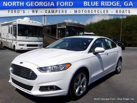 Oxford White 2016 Ford Fusion S