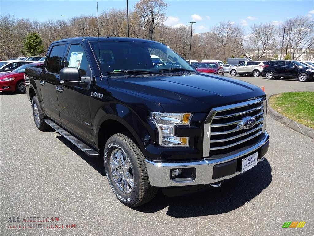 2016 ford f150 xlt supercrew 4x4 in shadow black b89676 all american automobiles buy. Black Bedroom Furniture Sets. Home Design Ideas