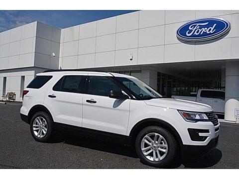 Oxford White 2016 Ford Explorer FWD
