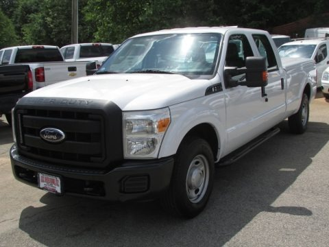 Oxford White 2011 Ford F250 Super Duty XL Crew Cab