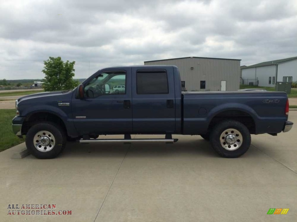 2005 ford f250 super duty xlt crew cab 4x4 in true blue metallic for sale b13581 all. Black Bedroom Furniture Sets. Home Design Ideas