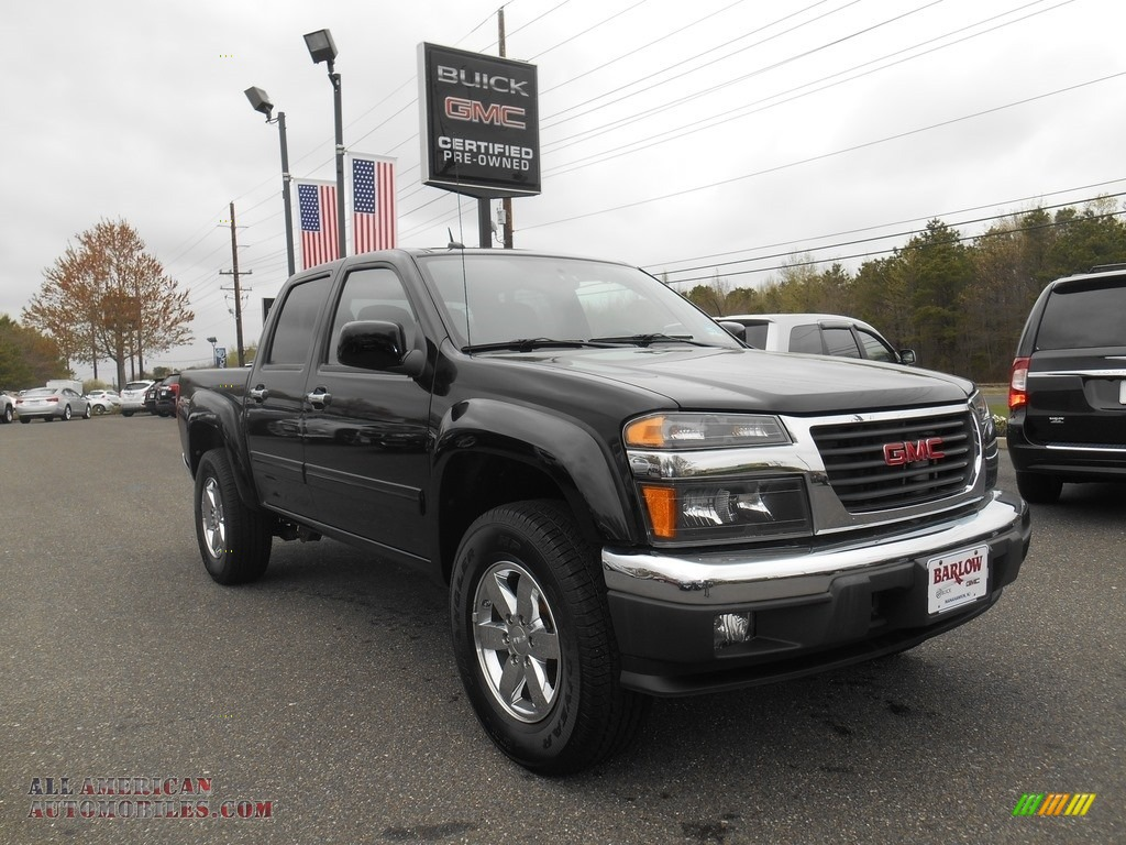 2010 gmc canyon sle crew cab 4x4 in onyx black 111134 all american automobiles buy. Black Bedroom Furniture Sets. Home Design Ideas