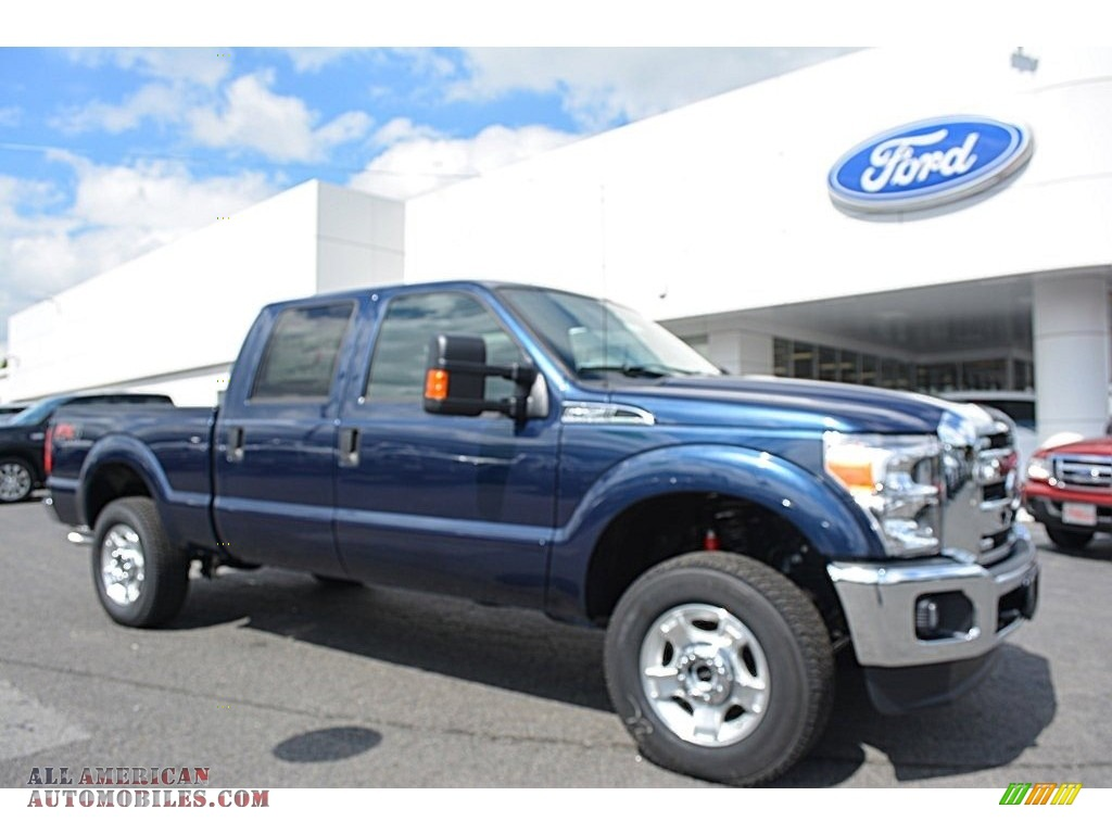 Ranch Jeep >> 2016 Ford F250 Super Duty XLT Crew Cab 4x4 in Blue Jeans ...