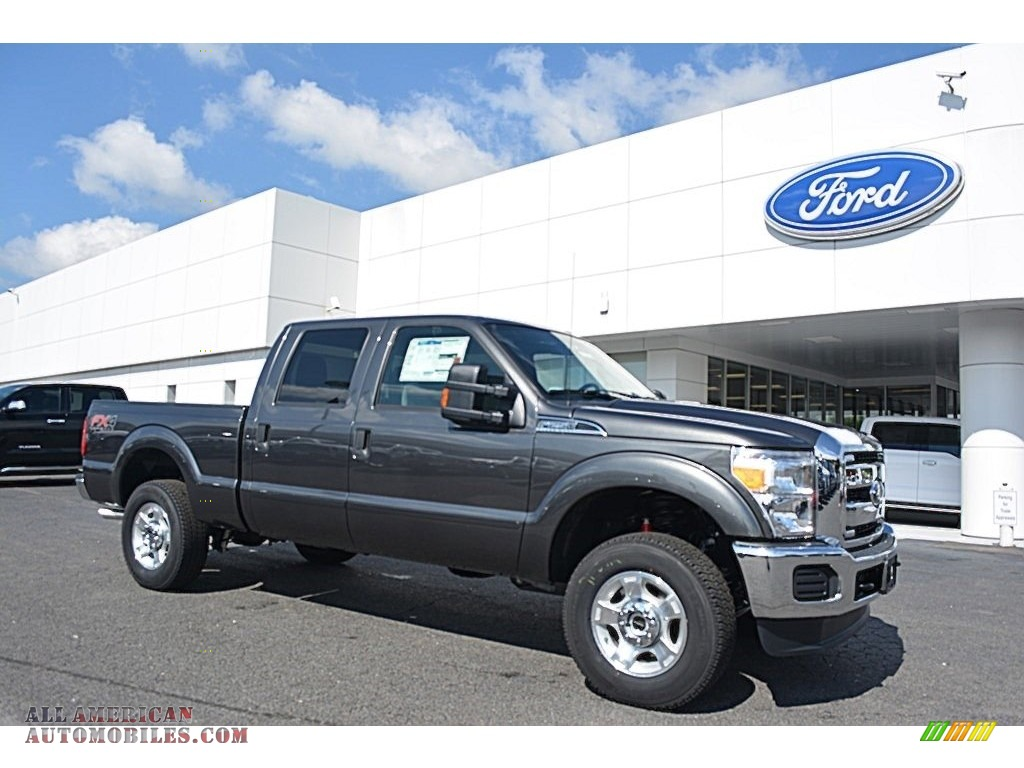 2016 ford f250 super duty xlt crew cab 4x4 in magnetic metallic c79279 all american. Black Bedroom Furniture Sets. Home Design Ideas