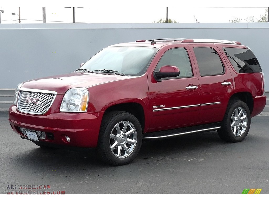2014 gmc yukon denali awd in crystal red tintcoat 234985 all american automobiles buy. Black Bedroom Furniture Sets. Home Design Ideas