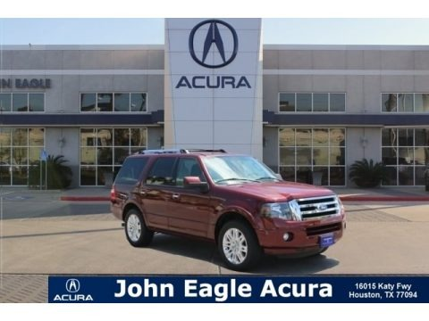 Autumn Red Metallic 2012 Ford Expedition Limited