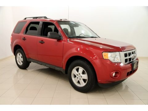 Sangria Red Metallic 2010 Ford Escape XLT 4WD