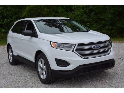 Oxford White 2016 Ford Edge SE