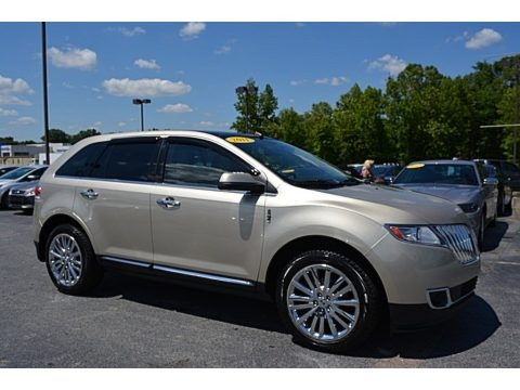 Gold Leaf Metallic 2011 Lincoln MKX FWD