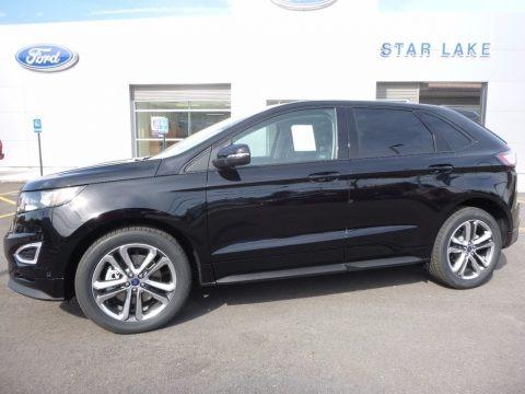 Shadow Black 2016 Ford Edge Sport AWD