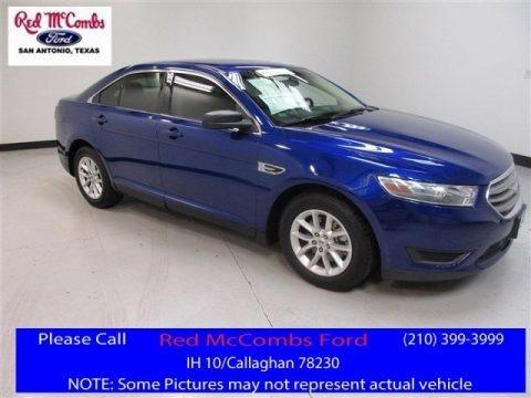 Deep Impact Blue 2014 Ford Taurus SE