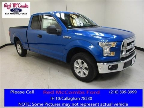 Blue Flame 2016 Ford F150 XLT SuperCab