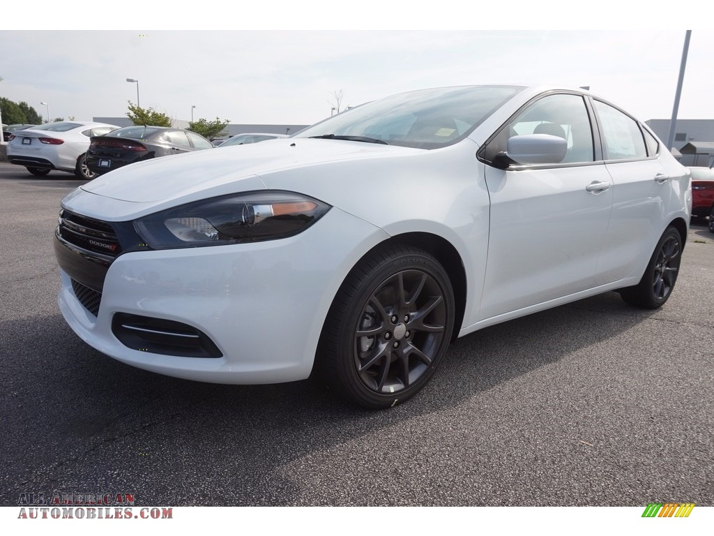2016 dodge dart se in bright white 712135 all american automobiles buy american cars for. Black Bedroom Furniture Sets. Home Design Ideas