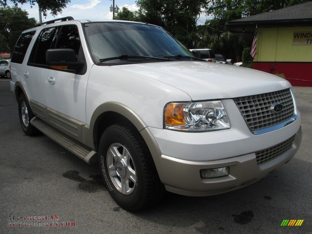 2005 ford expedition eddie bauer in oxford white a21177 all american automobiles buy. Black Bedroom Furniture Sets. Home Design Ideas