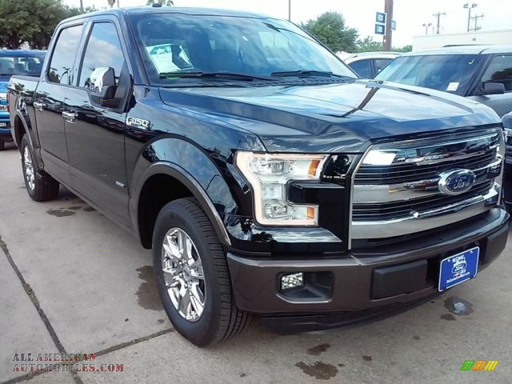 2016 ford f150 lariat supercrew in shadow black a53707 all american automobiles buy. Black Bedroom Furniture Sets. Home Design Ideas