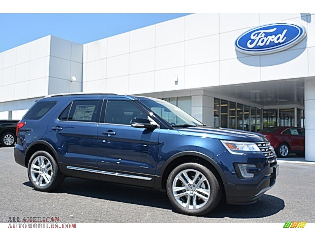 2016 Ford Explorer XLT 4WD in Blue Jeans Metallic - C99912 | All American Automobiles - Buy ...