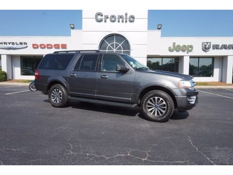 Magnetic Metallic 2015 Ford Expedition EL XLT
