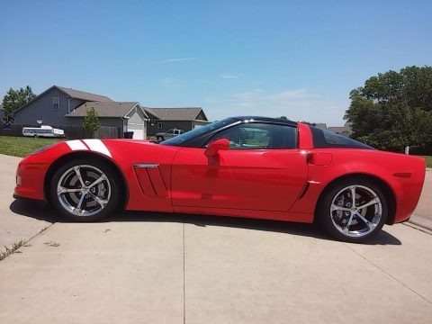 Torch Red 2010 Chevrolet Corvette Grand Sport Coupe