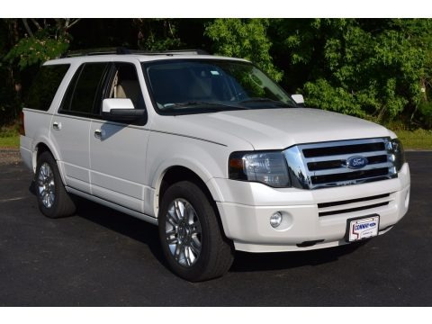 White Platinum Tri-Coat 2011 Ford Expedition Limited