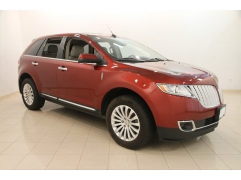 Sunset Metallic 2014 Lincoln MKX FWD