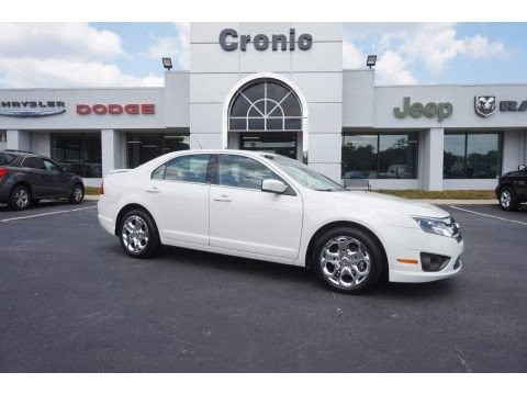 White Suede 2010 Ford Fusion SE