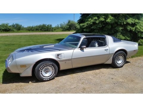 10th Anniversary Silver/Charcoal 1979 Pontiac Firebird 10th Anniversary Trans Am