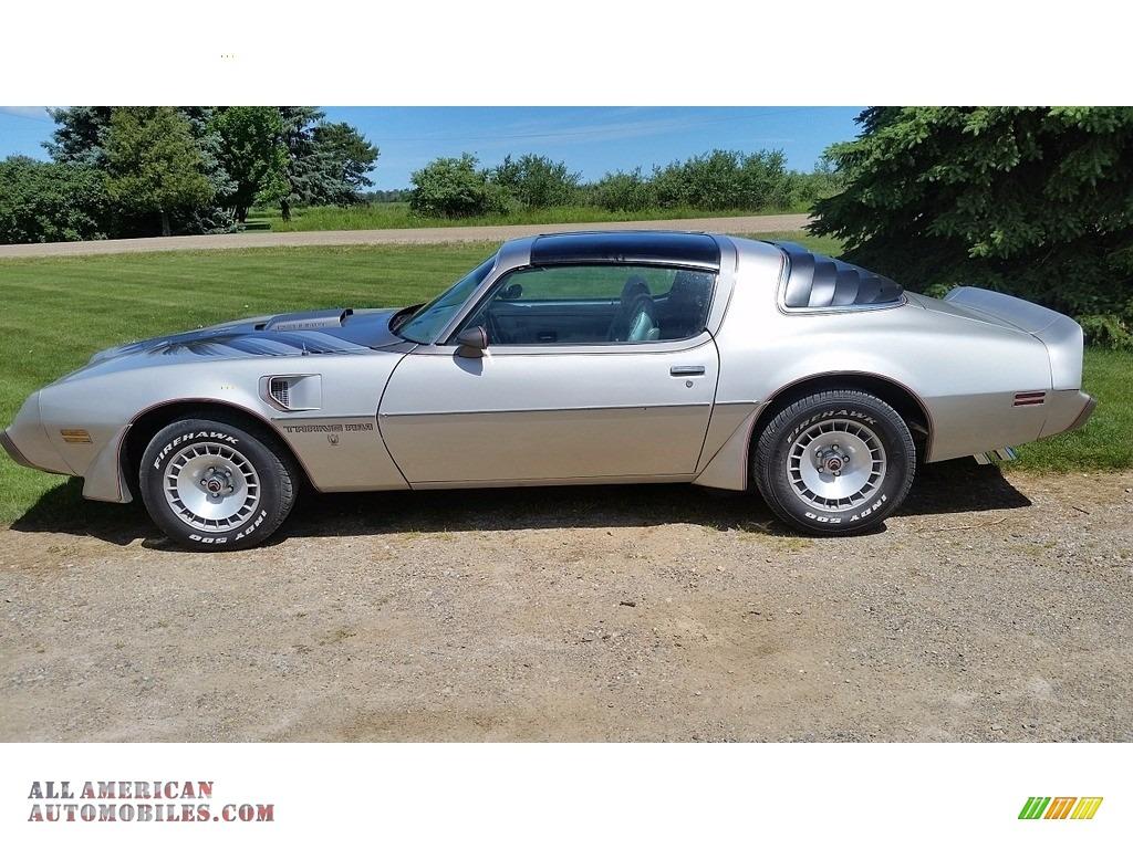1979 Firebird 10th Anniversary Trans Am - 10th Anniversary Silver/Charcoal / Silver photo #2