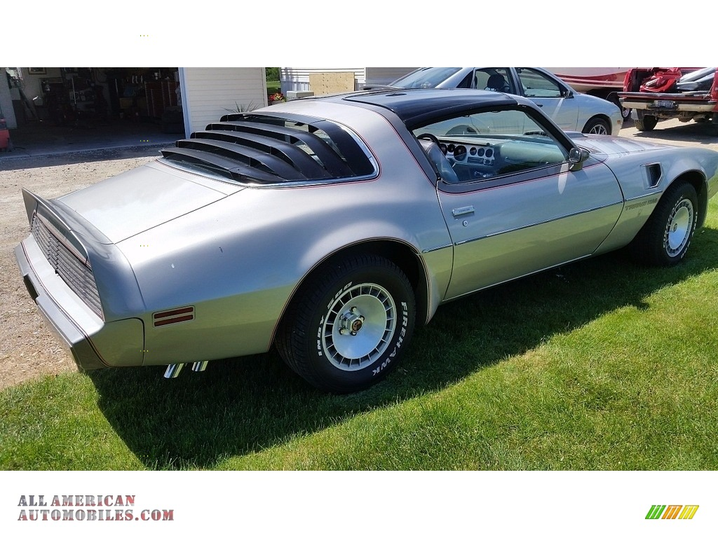 1979 Firebird 10th Anniversary Trans Am - 10th Anniversary Silver/Charcoal / Silver photo #3