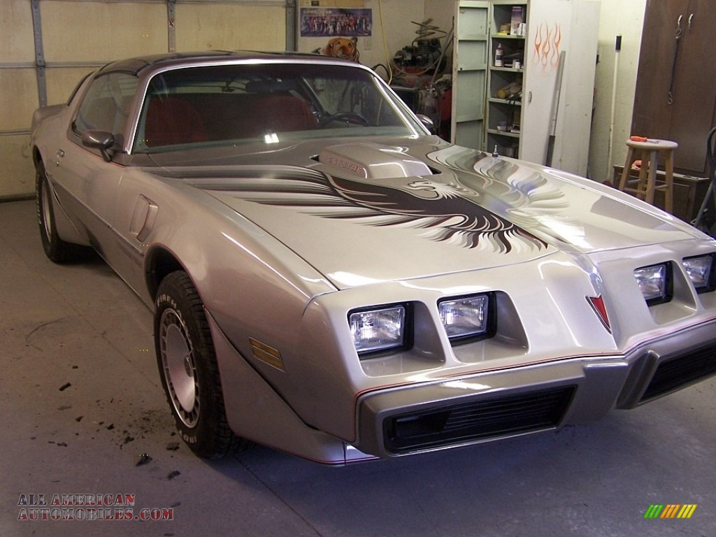 1979 Firebird 10th Anniversary Trans Am - 10th Anniversary Silver/Charcoal / Silver photo #6