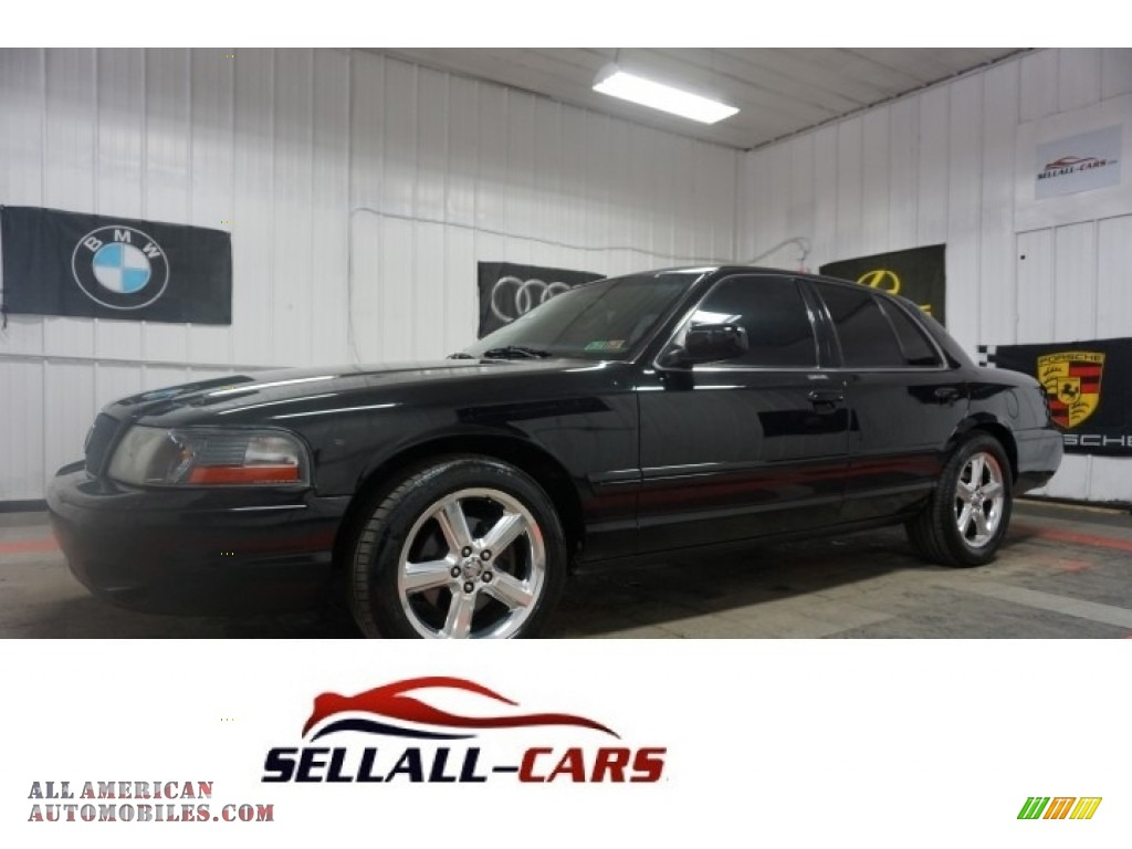 Black / Dark Charcoal Mercury Marauder